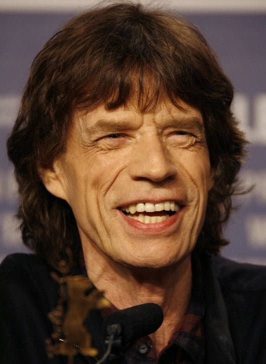 HAPPY 75th BIRTHDAY to ROLLING STONE Mick Jagger